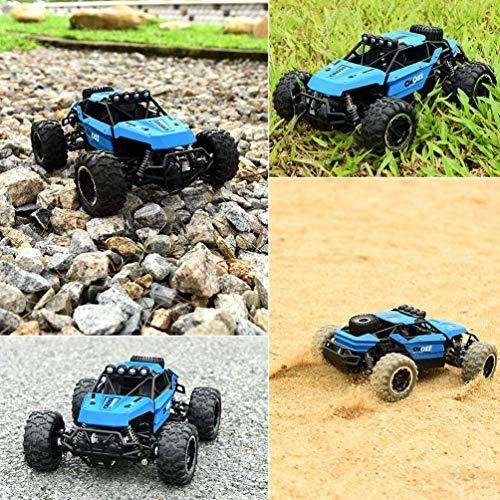 RC Auto kaufen Buggy Bild 2: allcaca Buggy RCAuto Offroad 4WD Ferngesteuertes Auto 1/16 Maßstab 2.4GHz Funkfernsteuerung 25KM/h RC Geländewagen Auto Spielzeug für Erwachsene und Kinder, Blau*