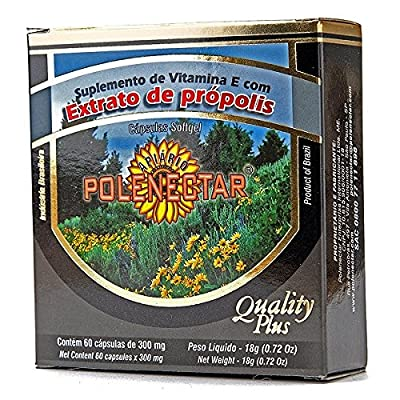 Polenectar Brazil Green Bee Propolis 60 Softgels from Polenectar