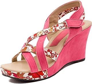 Footshez Printed Outdoor Casual Heel for Women and Girls
