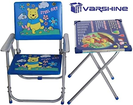 Varshine Boom Table Chair Set for Growing Kids || Study Table || 2 to 6 Years Old Kids || F-23