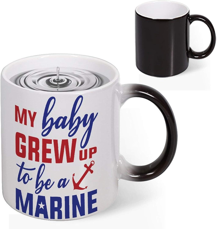 Changing Color Coffee Mug Novelty Por Heart Morph specialty shop Heat Selling Sensitive
