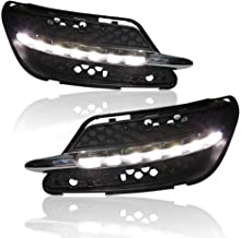 LED Daytime Running Light, Xtreme Super Bright Fog Lamp LED Bulbs Replacement for Benz W204 C-Class C300 Sport C63 AMG 2007-2012, 1 Pair of DRL