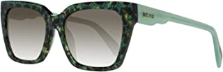 JC784S 55P Green Havana Square Sunglasses for Womens