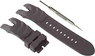26mm Black Rubber Watch Band Strap for Invicta Reserve Collection Venom 6118 | Free Spring Bar Tool