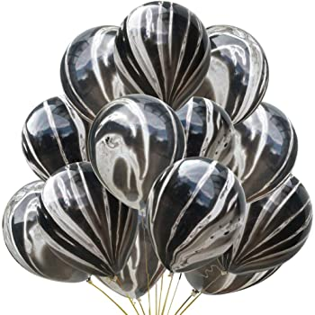 "Marble 12/"" Effect Balloons Baloons Super Agate Wedding Birthday party Balons"