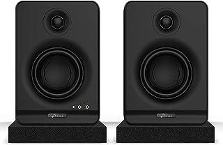 Donner 3'' Studio Monitors con CSR Profesional Bluetooth 5.0, paquete de 2 que Incluyen Almohadillas de Aislamiento para M...