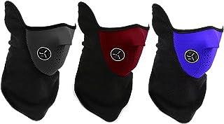 スヌードサイクリング用フリースフェイスマスクハイキングフルフェイスマスクスキースノースノーボードネックウォーマー屋外風ストッパーネッカチーフスポーツ帽子帽子