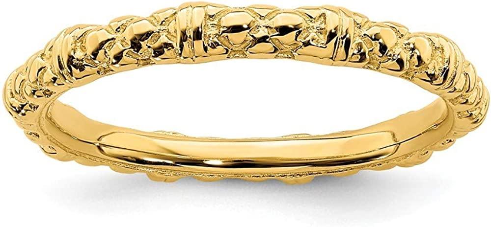 Roy Rose 5 ☆ very popular Jewelry Sterling Expressions Silver Stackable Gold-Plat security