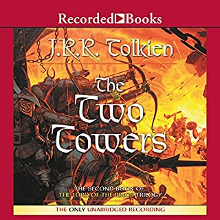 The Two Towers     Book Two in the Lord of the Rings Trilogy              By:                                                                                                                                 J. R. R. Tolkien                               Narrated by:                                                                                                                                 Rob Inglis                      Length: 16 hrs and 40 mins     25,133 ratings     Overall 4.9