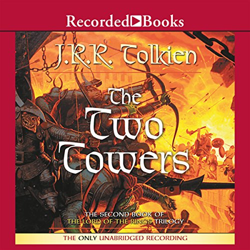 The Two Towers     Book Two in the Lord of the Rings Trilogy              By:                                                                                                                                 J. R. R. Tolkien                               Narrated by:                                                                                                                                 Rob Inglis                      Length: 16 hrs and 40 mins     25,137 ratings     Overall 4.9