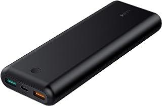 AUKEY AUKEY(オーキー) モバイルバッテリー Sprint Go 20100mAh PD対応 [USB-C×1ポート/USB-A×2ポート]出力[USB-C×1ポート]入力 ブラック AUKEY(オーキー) Black PB-XD20-BK