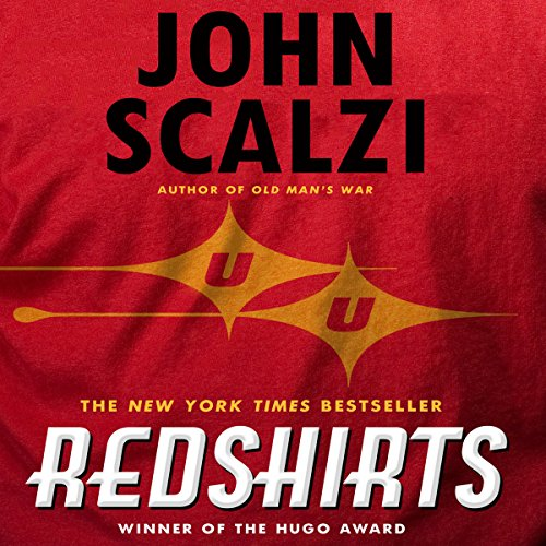Redshirts audiobook cover art