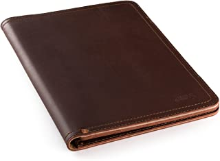Saddleback Leather Co. Business Notepad Holder for Notebooks Leather Pad Folio Legal Pads Tablets and Business Cards Includes 100 Year Warranty