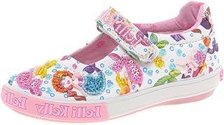 c2ec44ea306e Lelli Kelly Mermaid Dolly Girls Canvas Shoes