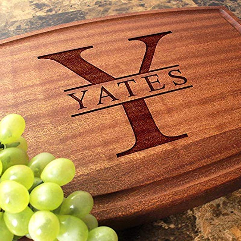 Personalized Cutting Board Arched Custom Keepsake Engraved Serving Cheese Plate Wedding Anniversary Engagement Housewarming Birthday Corporate Closing Gift 201