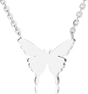 VAttract Gold Necklace for Women -  Butterfly Necklace Jewelry- Meaningful Adjustable Necklace for Women 16 in