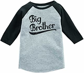 Inktastic Leveling Up To Big Brother Youth T-Shirt Bro Little Brothers Gamer Tee