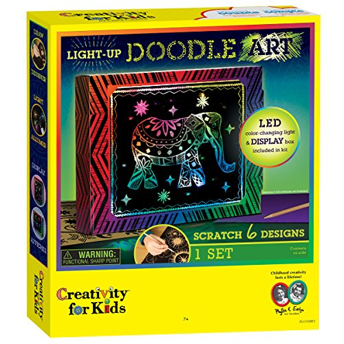 Creativity for Kids - CFK6103 - Art de griffonnage qui s'illumine (UK Import)