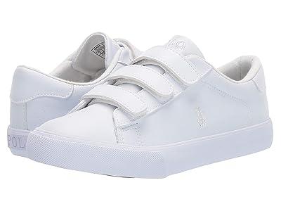 Polo Ralph Lauren Kids Eastern EZ (Little Kid) (Triple White Tumbled) Kids Shoes
