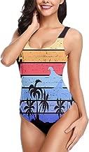 Randell Womens Swimwear Biniki Abstract Flowers