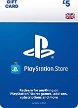 PlayStation PSN Card 5 GBP Wallet Top Up   PS5/PS4   PSN Download Code - UK account