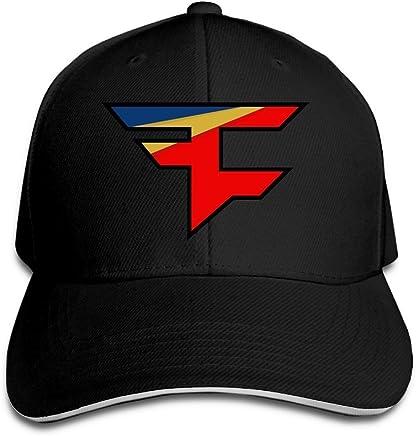 Yhsuk Novak Djokovic Sandwich Peaked Hat//Cap Red