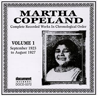 Martha Copeland Vol. 1 (1923-1927)