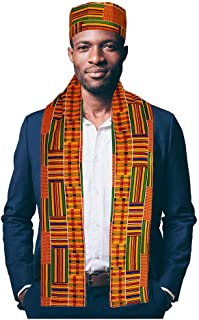 Dupsie`s African Kente Print Hat and Sash/Scarf