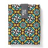 Roll'eat - Boc'n'Roll Tiles | Bolsa Merienda Porta Bocadillos, Envoltorio Reutilizable y Ecológico sin BPA, Gotic
