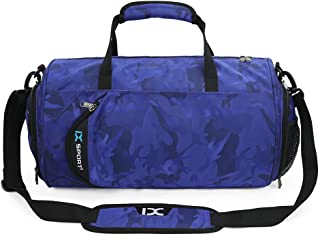 87e299e247b0 INOXTO Fitness Sport Small Gym Bag with Shoes Compartment Waterproof Travel  Duffel Bag for Women and