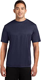 Sponsored Ad - Dri-Tek Men's Big and Tall Short Sleeve Moisture Wicking Athletic T-Shirt