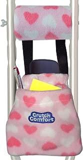 Universal 2-Pocket Crutch Pouch Bag Pocket (Love & Hearts)