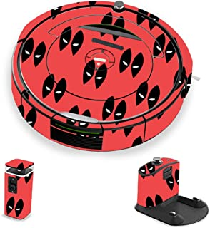 MightySkins Skin Compatible with iRobot Roomba 690 Robot Vacuum - Dead Eyes Pool | Protective, Durable, and Unique Vinyl Decal wrap Cover | Easy to Apply, Remove, and Change Styles | Made in The USA