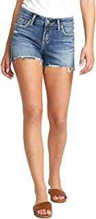 Women's Elyse Curvy Fit Mid Rise Short