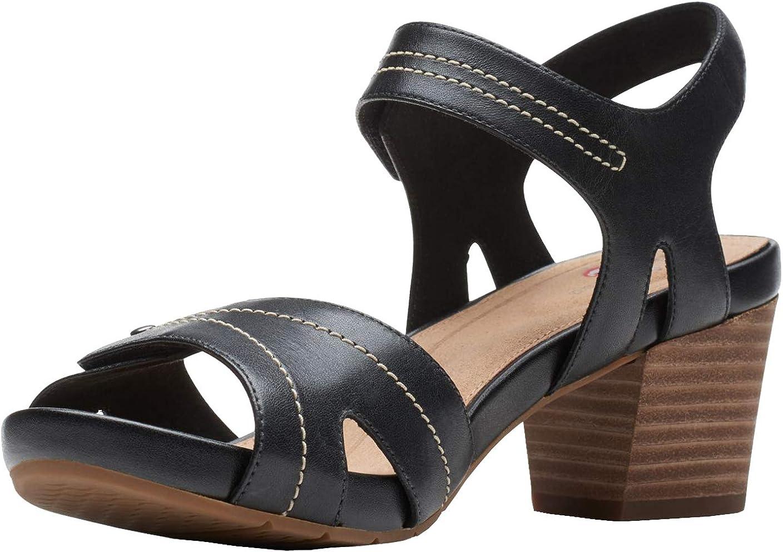 Clarks Women's Un Palma Vibe Heeled Sandal