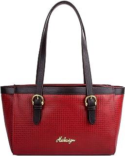 Hidesign Women's Shoulder Bag(MARAK MEL RAN RED BROWN)