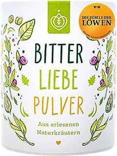 BitterLiebe® Bitterstoffe Pulver 100g mit Ingwer Kurkuma Pulver I Smoothie Pulver und..