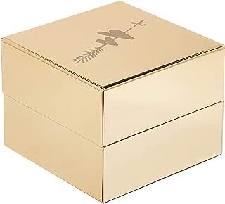 Kate Spade New York KS Bridal Ring Box, 2.5 inches, Gold