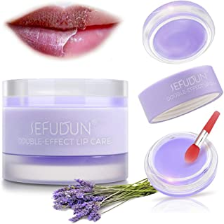 Lip Sleeping Masks, Lip Scrubs Exfoliator & Moisturizer & Collagen Booster Sleeping Lip Mask Repair Treatment to Restore, ...