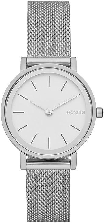 Skagen Hald para mujer reloj de malla de acero