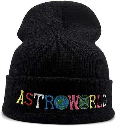 7a7f9c5b40d5e Travis Scott Astroworld Unisex Knitted Hat Wool Hat Sleeve Cap Beanie Hat  Winter Windproof Warm Soft