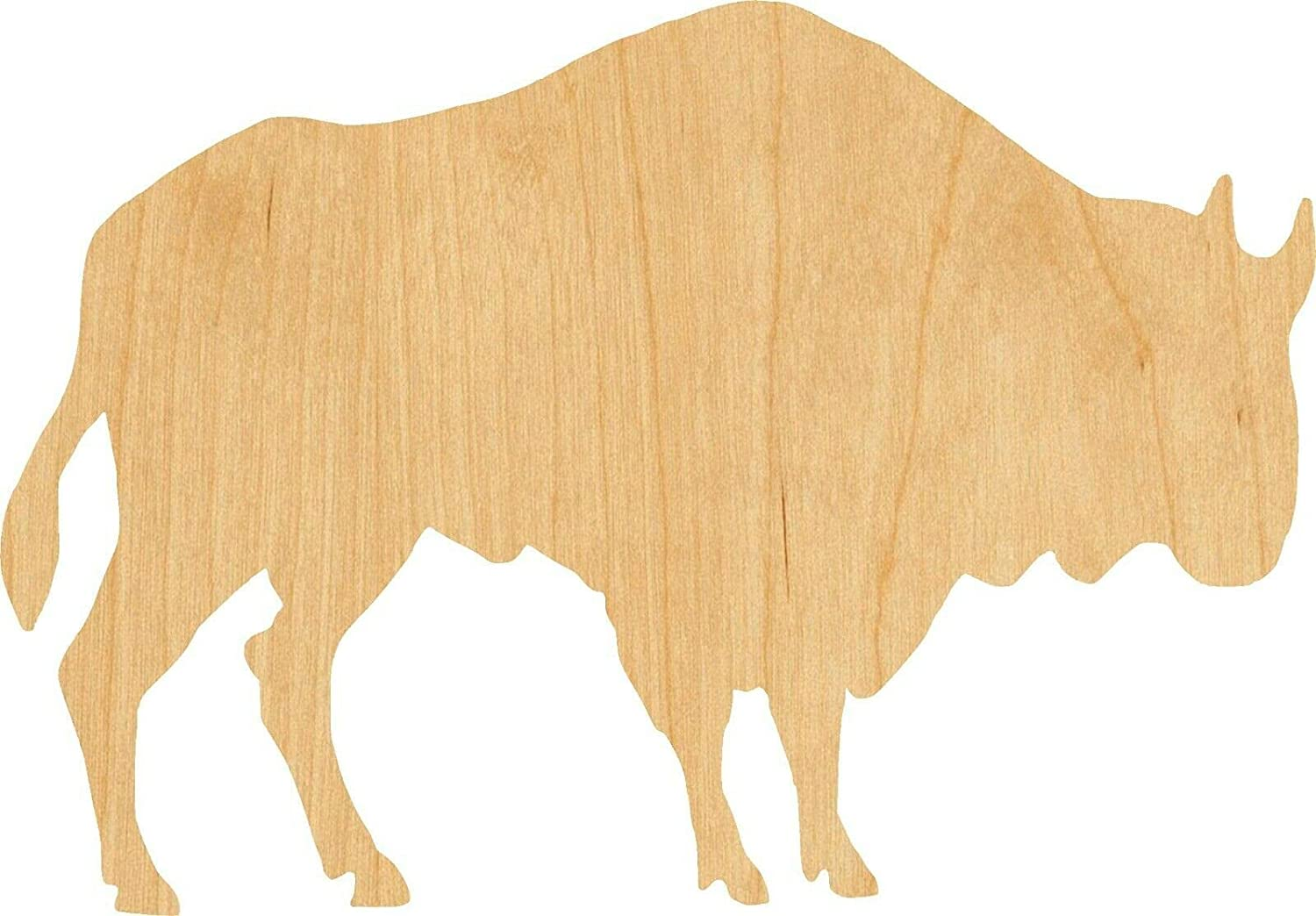 Buffalo Woodcraft Cutout Thickness: 1 Max 47% OFF Quanti 7 Quantity limited Inch Size: 8