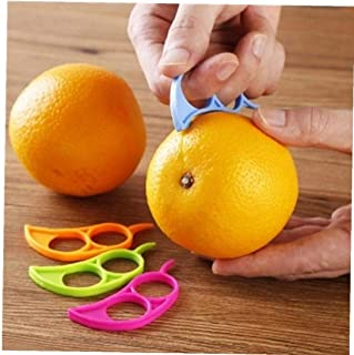 LAVALINK Naranja Naranja Creativa Peeler Peladoras Limón Máquina De Cortar Fruta Cítrica Stripper Fácil Abridor Cuchillo D...