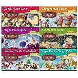 Celestial Seasonings Holiday Tea Variety Pack (Includes Herbal, Black, Green Teas) 20 Tea Bags (Pack of 6)