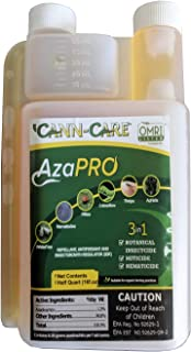 Cann-Care AzaPRO - 16 Ounces - Botanical Insecticide - Pest Management And Growth Control Concentrate For Organic Gardening