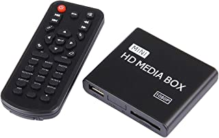 Player Player Full HD 1080P HDMI Multimedia HDD Player with SD/MMC Card & USB Slot, Support External Removable Hard Disk S...