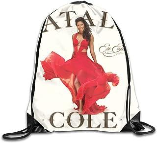 Lawenp AlexisW Natalie Cole Natalie Cole En Español Mochila Gymsack Bolsas con cordón Bolsa de Gimnasio para Hombres y Mujeres