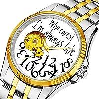 男性の人格ダイヤル&クリアウィンドウのためのカジュアルメンズ自動機械式時計高級ブランドカジュアルスポーツウォッチ 371. おかしいいつも遅く