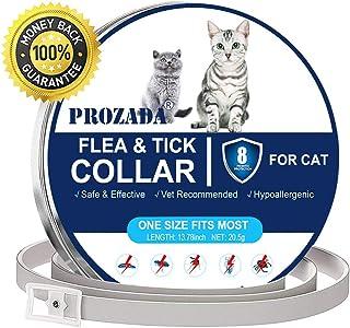 PROZADA Collar Antiparasitario para Gatos, 8 Meses de