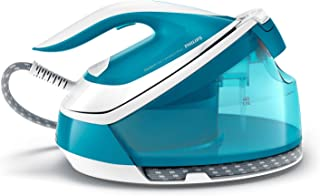 Philips PerfectCare Compact Plus Steam Generator Iron with 1.5L Detachable Water Tank, OptimalTEMP Technology, up to 430g ...